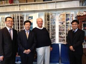 板带中心王敏与北科大包燕平教授访问亚琛工业大学